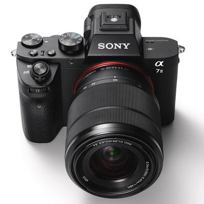 索尼  ILCE-7M2K 全画幅微单双镜头套装(2430万有效像素 28-70mm镜头+50MMF1.8镜头)产品图片3