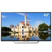 索尼 KD-49X7000D 49英寸4K HDR 安卓6.0系统 智能液晶电视(黑色)