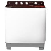 荣事达 10公斤 大容量双桶双缸洗衣机 喷淋除沫脱水 仿生手搓 强力洗涤  XPB100-599GKR
