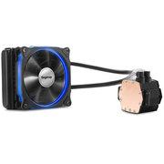 鑫谷 冰凌霜120一体式水冷CPU散热器(12CM发光风扇/LED炫光冷头/多平台AM4通用/冷排机箱专用)