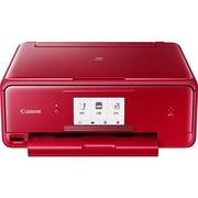 佳能 TS8080 红 高品质照片一体机 精致版