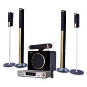 双诺 SA6308 家庭影院5.1套装音响组合 家用功放低音炮KTV客厅电视音箱 5.1家庭影院六件套
