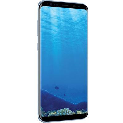 三星 Galaxy S8+(SM-G9550)4GB+64GB版 雾屿蓝 移动联通电信4G手机 双卡双待产品图片4