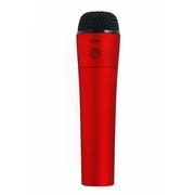 漫步者 MP450 手机直播K歌麦克风 无线K歌麦克风 红色