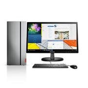 联想 天逸510 Pro商用台式电脑19.5英寸(i5-7400 8G 1T GT730 2G独显 Win10)