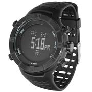 宜准 登山表电子表男士手表户外运动手表多功能登山表H001A01