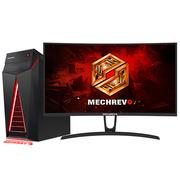 机械革命 NX7-600 台式游戏电脑27英寸曲面(i7-7700 16GDDR4 120GSSD+1T GTX1070 8G独显)