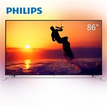飞利浦 86PUF8502/T3 86英寸 大屏高享受 3边流光溢彩 HDR 4K超高清智能网络液晶平板电视(银色)产品图片主图