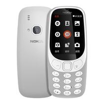 诺基亚 3310 (TA-1030) 灰色 移动联通2G手机 时尚手机 经典复刻 双卡双待产品图片主图