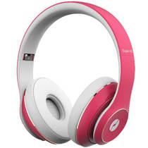 击音 Super HDⅡ 无线头戴蓝牙耳机 无线HIFI智能降噪 滑动触控 敲击感应 音乐游戏运动语音 蜜桃粉产品图片主图