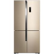 美菱 BCD-531WP9CX 531升 0.1度精控变频  风冷无霜 干湿分储科学空间 杀菌除味 十字对开门冰箱(金)
