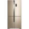 美菱 BCD-531WP9CX 531升 0.1度精控变频  风冷无霜 干湿分储科学空间 杀菌除味 十字对开门冰箱(金)产品图片1