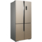 美菱 BCD-531WP9CX 531升 0.1度精控变频  风冷无霜 干湿分储科学空间 杀菌除味 十字对开门冰箱(金)产品图片2
