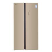澳柯玛 BCD-650WPG 650L 智能风冷无霜 变频静音 双开门冰箱(炫金)