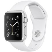 苹果 Watch Sport Series 1智能手表(38毫米银色铝金属表壳搭配白色运动型表带 MNNG2CH/A)