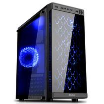 先马 焦点3 台式电脑机箱 玻璃面板/侧透/标配3把散热风扇/支持ATX主板 长显卡 高CPU散热器 背线产品图片主图