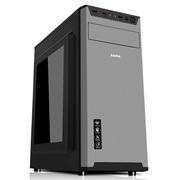 先马 杰作1 电脑机箱 侧透/金属面板/配2把风扇/支持ATX主板固态硬盘高CPU散热器长显卡背线上置电源