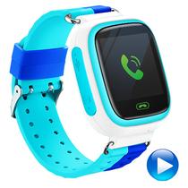 智力快车 Z5 电话手表 儿童定位手表 智能儿童电话手表智能穿戴 儿童智能手表电话 蓝色产品图片主图