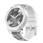 Ticwatch E 时尚智能手表 明星版 蓝牙wifi 3G电话男女防水GPS定位记步测心率兼容苹果安卓手机 摩登白