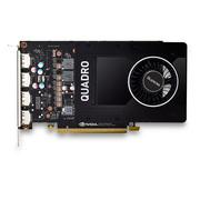 丽台 Quadro P2000 5GB GDDR5/160bit/140GBps/CUDA核心1024 Pascal GPU建模渲染绘图专业显卡