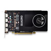 丽台 Quadro P2000 5GB GDDR5/160bit/140GBps/CUDA核心1024 Pascal GPU建模渲染绘图专业显卡产品图片主图
