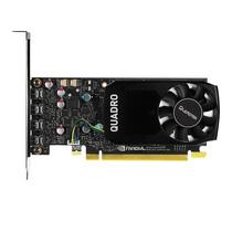 丽台 Quadro P1000 4GB GDDR5/128bit/82GBps CUDA核心640 Pascal GPU架构/建模渲染绘图专业显卡产品图片主图