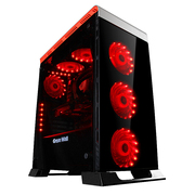 长城 魔镜T600机箱(EATX大板/全铝盖/三面钢化玻璃/27模彩灯/调光调速器/三RGB风扇/双U3)
