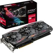 华硕 ROG-STRIX-RX580-T8G-GAMING 1431MHz 8G/8000MHz 256bit GDDR5 PCI-E显卡