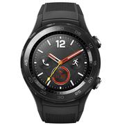 华为 WATCH 2 第二代智能运动手表4G版 独立SIM卡通话 GPS心率FIRSTBEAT运动指导 NFC支付 碳晶黑