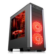 先马 塞恩3 游戏电脑机箱 (大侧透/205mm宽大箱体/USB3.0/支持ATX主板 长显卡 高CPU散热器)