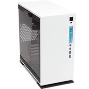 迎广 301 白色 中塔机箱(支持MATX主板/支持水冷/钢化玻璃/侧透/USB3.0)