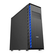 先马 掠食者V1 高塔电脑游戏机箱 (双铝面板/坚厚五金/10个PCI插槽/支持E-ATX主板 长显卡 水冷)