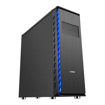 先马 掠食者V1 高塔电脑游戏机箱 (双铝面板/坚厚五金/10个PCI插槽/支持E-ATX主板 长显卡 水冷)产品图片主图