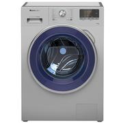 格力  XQG70-B1401Aa 7公斤 变频LCD触摸控制低噪音大肚量滚筒洗衣机 洗涤分离(银灰色)