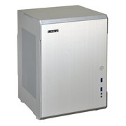 联力 银色Mini-ITX机箱(全铝外壳/双PCI插槽/双前置USB 3.0接口) PC-Q34A