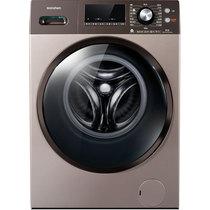 容声 XQG100-N145YBJX 10公斤 变频滚筒洗衣机 智能APP控制 双水道三喷淋 玫瑰金产品图片主图