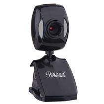 蓝色妖姬 摄像头笔记本电脑台式机高清网络视频摄像头内置麦克风T56 黑产品图片主图