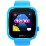 360 儿童电话手表 彩色触屏版 防丢防水GPS定位 SE 2代 W608 智能彩屏电话手表 天空蓝