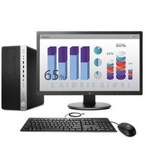 惠普 EliteDesk 880 G3 MT商用台式电脑24英寸(i5-7500 8G 1TB 2GB独显)产品图片主图