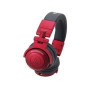 铁三角 ATH-PRO500MK2  RD 专业DJ监听耳机 红色