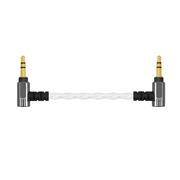 山灵 L1 专业发烧对录线 3.5mm公对公连接线AUX车载音频线