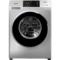 三洋 WF100BIS565S 10公斤变频滚筒全自动洗衣机 WIFI云洗 中途添衣(哑光银)产品图片1