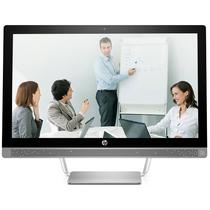 惠普 ProOne 490 G3 AiO 23.8英寸商务一体机电脑(i3-7100T 4G 500G 2G独显 DVDRW Win7)产品图片主图