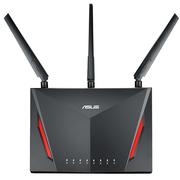 华硕 RT-AC86U 2900M AC 双频 低辐射 智能无线千兆路由器
