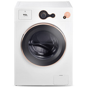 TCL XQGM65-Q100WH 6.5公斤 免污式全自动滚筒洗衣机 智能WIFI控制 (芭蕾白)