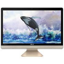 华硕 傲世V221IC 21.5英寸一体机电脑(i3-6006U 4G 1T 集显 Win10)黑曜金产品图片主图