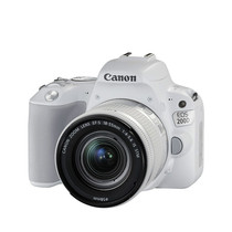 佳能 EOS 200D(EF-S18-55mm f/4-5.6 IS STM)白色产品图片主图