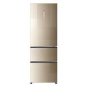 卡萨帝 BCD-329WDCQ 329升变频风冷无霜三门冰箱 风机压缩机双变频 彩晶面板 风范金
