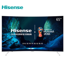 海信 LED65EC880UCQ 65英寸 超高清4K 曲面 ULED超画质电视 HDR 人工智能 VIDAA5.0(月光银)产品图片主图