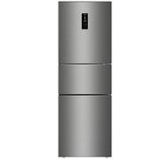 美菱  BCD-251WE3CX 251升 风冷无霜 电脑控温 除味杀菌 宽幅变温 节能静音 大冷冻三门冰箱(银)